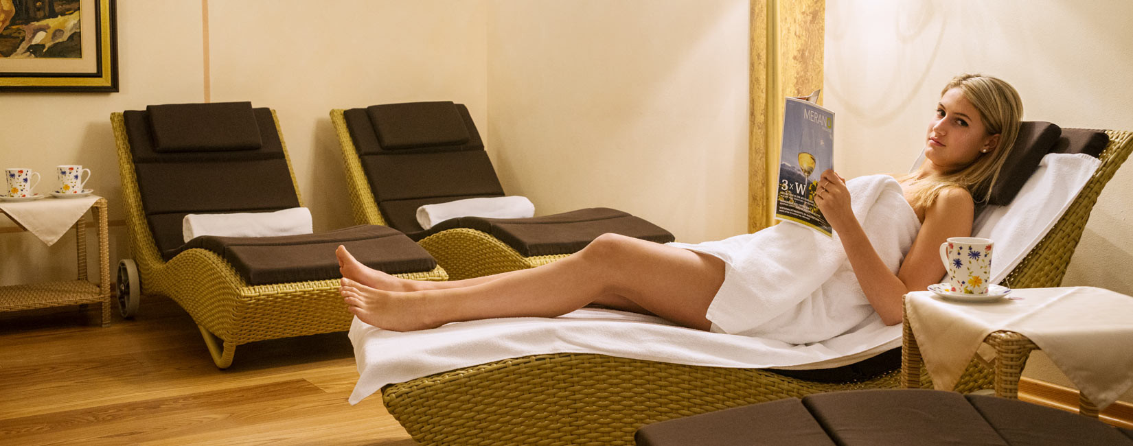 Beauty treatments, baths and massages