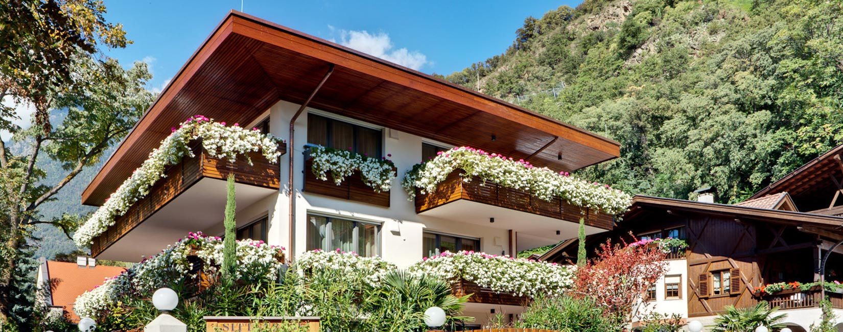 Welcome to our new Residence in Merano